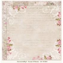 Obojstranný papier -  Houses Of Roses 01