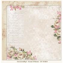 Obojstranný papier -  Houses Of Roses 03