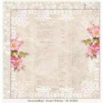 Obojstranný papier -  Houses Of Roses 04
