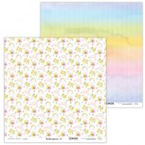 Obojstranný papier - Rainbow Unicorn 05