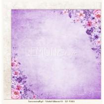 Obojstranný papier - Violet Silence 01