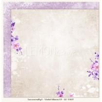 Obojstranný papier - Violet Silence 02