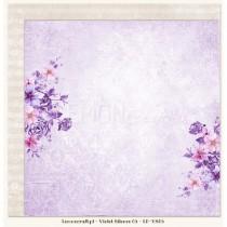 Obojstranný papier - Violet Silence 05