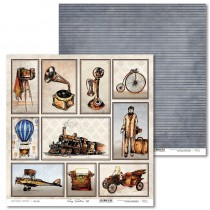 Obojstranný papier - Vintage Gentleman 01