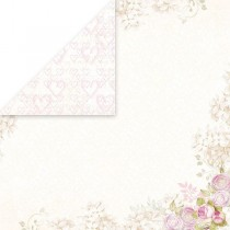 Obojstranný papier - White Day  05