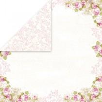 Obojstranný papier - White Day  06