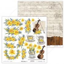 Obojstranný papier - Yellow Spring 02