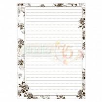 Listy do zápisníka - Mrs Black