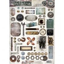 Papierové výseky - Industrieel nr.388