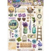Papierové výseky - La Provence nr.480