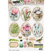 Papierové výseky - Romantic Botanic nr.586
