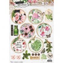Papierové výseky - Romantic Botanic nr.587