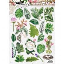 Papierové výseky - Romantic Botanic nr.591