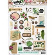 Papierové výseky - Romantic Botanic nr.592