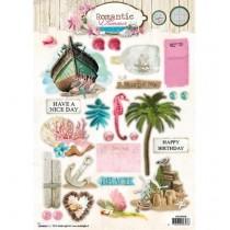 Papierové výseky - Romantic Summer nr.529