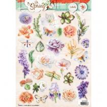Papierové výseky - So Spring, Nr 607