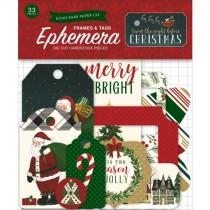 Papierové výseky - The Night Before Christmas