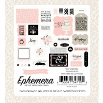 Papierové výseky -  Wedding Bliss Ephemera