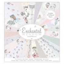Sada papierov - Enchanted Meadow  15,2x15,2 cm