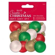 Ozdoby - mini vianočné gule
