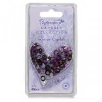 Prechodky Eyelets 80ks - heather