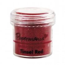 Embosovací prášok - Tinsel Red