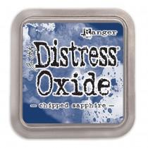 Poduška Distress Oxide - chipped sapphire