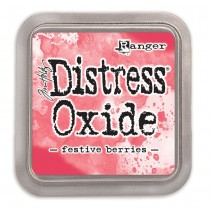 Poduška Distress Oxide - festive berries