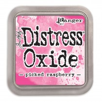 Poduška Distress Oxide - picked raspberry