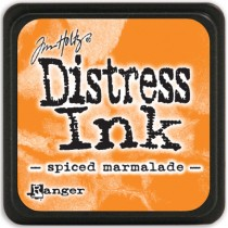 Poduška mini distress - spiced marmelade