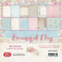 Sada papierov - Beautiful Day 6x6 (12ks)