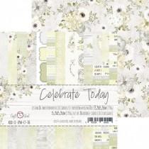 Sada papierov - Celebrate Today 15,2x15,2 cm