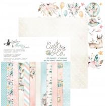 Sada papierov -  Cute & Co.  15,2x15,2 cm