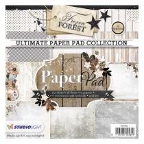 Sada papierov - Frozen Forest nr.88  15,2x15,2 cm