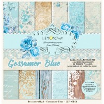 Sada papierov - Gossamer Blue 30,5x30,5cm