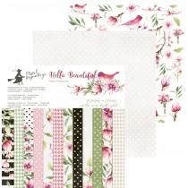 Sada papierov -  Hello Beautiful 15,2x15,2 cm