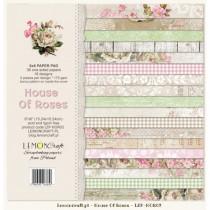 Sada papierov - House of roses 15,2x15,2 cm