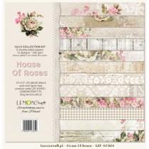 Sada papierov - House of roses 30,5x30,5cm