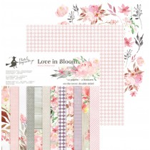 Sada papierov -  Love in Bloom 30,5x30,5 cm