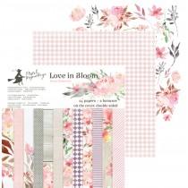 Sada papierov -  Love in Bloom 315,2x15,2 cm