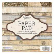Sada papierov - Nr. 47 15,2x15,2 cm