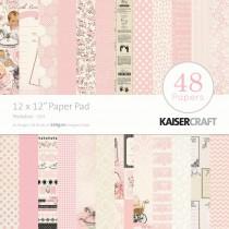 Sada papierov - peekaboo girl 30,5x30,5