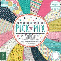 Sada papierov - Pick N Mix 20,3x20,3 (16ks)