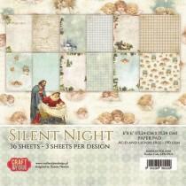 Sada papierov - Silent Night 6x6 (12ks)