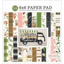 Sada papierov -  Spring Market (15,2x15,2 cm)