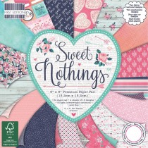 Sada papierov - Sweet Nothings 20,3x20,3 (16ks)