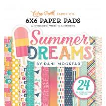 Sada papierov -Summer Dreams  (15,2x15,2 cm)