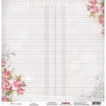 Jednostranný papier - Elegy - Peonies
