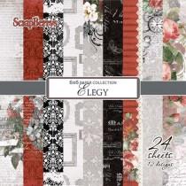 Papierová sada Set Elegy  (15,2 x 15,2 cm)
