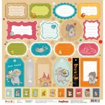 Jednostranný papier - Basik&Ko cards 3